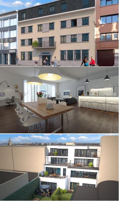renovatie, Antwerpen, schoolgebouw